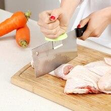 Усилитель костей из нержавеющей стали для нарезки нарезания кубиков кухонный вспомогательный инструмент для порезания, ручной протектор, ...