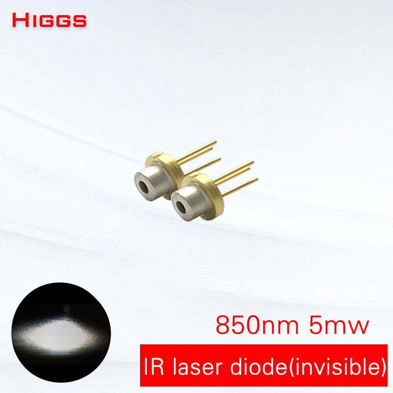 Strong anti-sunshine interference <font><b>850nm</b></font> 5mw infrared <font><b>laser</b></font> <font><b>diode</b></font> IR light <font><b>laser</b></font> module accessories TO18/diameter 5.6mm have PD image