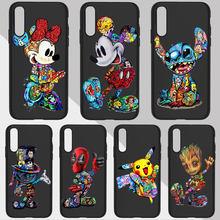 Cool Marvel Movie Stitch Phone Case For SamSung A50 S7 Edge S8 S9 S10 Plus A70 A30 A6 A7 2018 Silicone Soft TPU Cover(China)