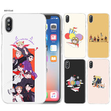 iKON kpop Cartoon Hard PC Case Cover For Apple iPhone 11 11Pro XR XS Max X 7 8 6 6S Plus 5 5S SE 5C 7+ 8+ 6+ 6S+(China)