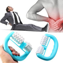 Hot Handheld Full Body Anti Selulit Pijat Sel Roller Massager Mini Bola Kaki Tangan Tubuh Leher Kepala Sakit Kaki relief(China)