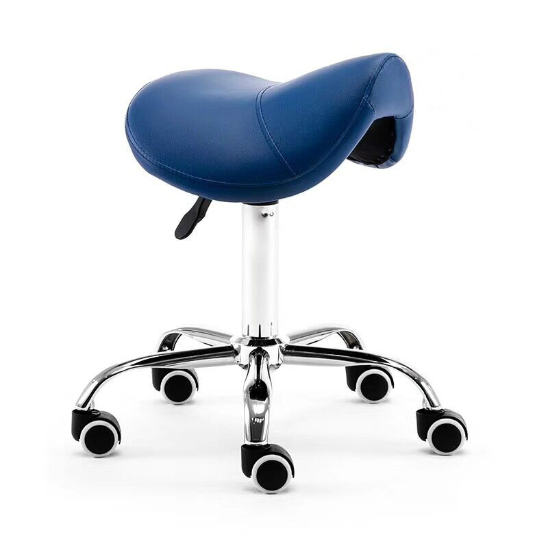 H Massage Pedicure Chair Stool Saddle Leather Upholstery Spa Tattoo Beauty Facial Massage Chair Giraffe Office Chair