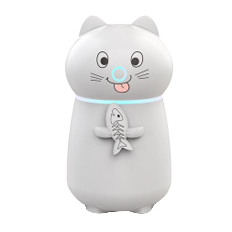 Meng Pet Air Humidifier Three In One Multi Function Small Fan Night Light Usb Desktop Mini Air Aromatherapy Machine|Humidifiers| |  - title=