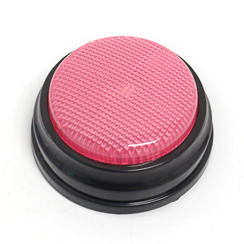 4 Colors/set 20s Recordable Talking Button With Led Function, Learning Resources Answer Buzzers