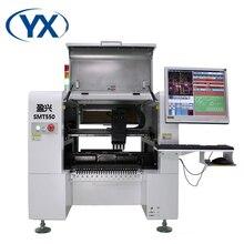 Máquina de montaje de Chip, 50 alimentadores, SMT de recogida y colocación, máquina de soldadura SMD con 4 cabezales y servomotor