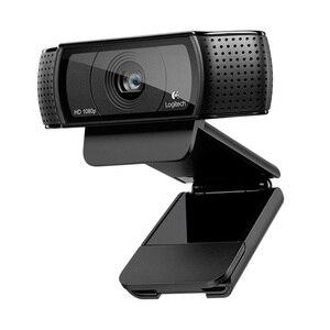 Image 1 - لوجيتك الأصلي C920C C920E C920 برو كاميرا بـ Usb HD الذكية 1080p لايف مرساة كاميرا ويب محمول مكتب اجتماع الفيديو Logi العلامة التجارية الساخن