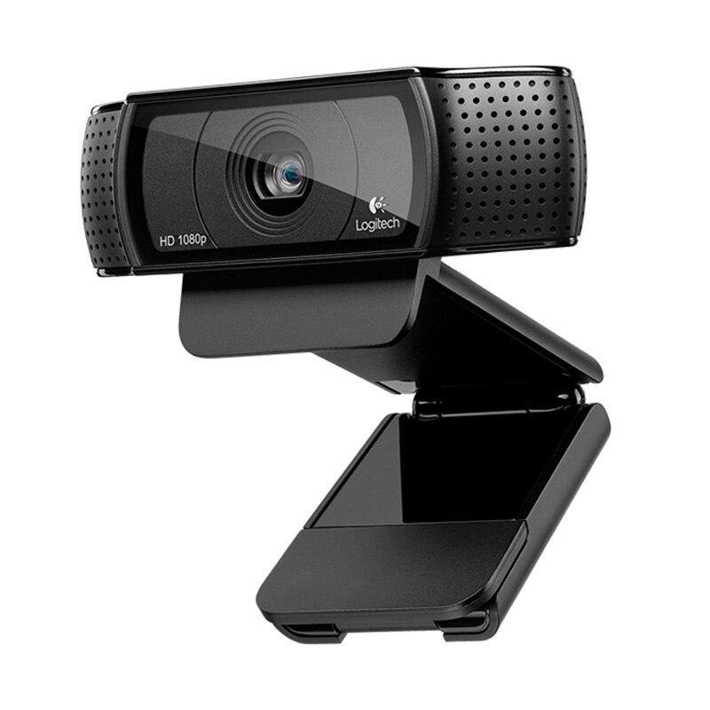 Logitech Original C920C C920E C920 Pro Usb Camera HD Smart 1080p Live Anchor Webcam Laptop Office Meeting Video Logi Brand Hot