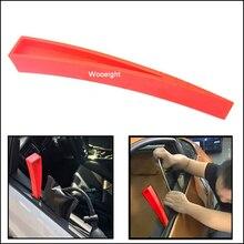 Wooeight 1pc 21.5cm universal vermelho carro auto janela portas painel abs plástico ampliador cunha de entrada de emergência reparação ferramentas mão aberta