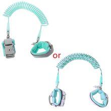Toddler Leash Harness Rope Wristband Key-Lock Safety-Belt Walking-Strap Anti-Lost 2M