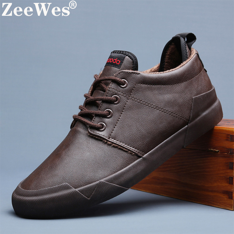 2019New Hot Fashion Spring Autumn Men Lace-up Leather Casual Shoes Trend Shoe Cool Loafers Flats Designer Shoes Men High Quality