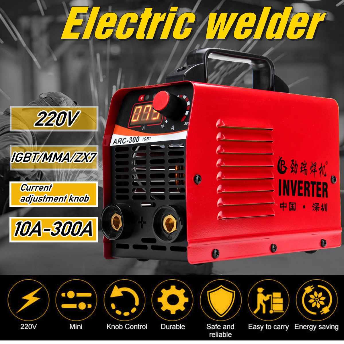 (RU In Stock ) ARC-300 220V LCD Electric IGBT Inverter MMA ARC Inverter Welding Machine