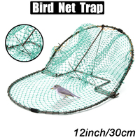 12inch Bird Net Humane Live Trap Hunting Sensitive Quail Humane Trapping Hunting 300mm Pest Control Garden Supplies Effective