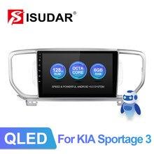 ISUDAR-reproductor Multimedia V72 QLED para coche, con Android, ocho núcleos, 4G, DVR Neto, no 2din, para KIA/KX5/Sportage 3, 4, 2016, 2017, 2018, 2019