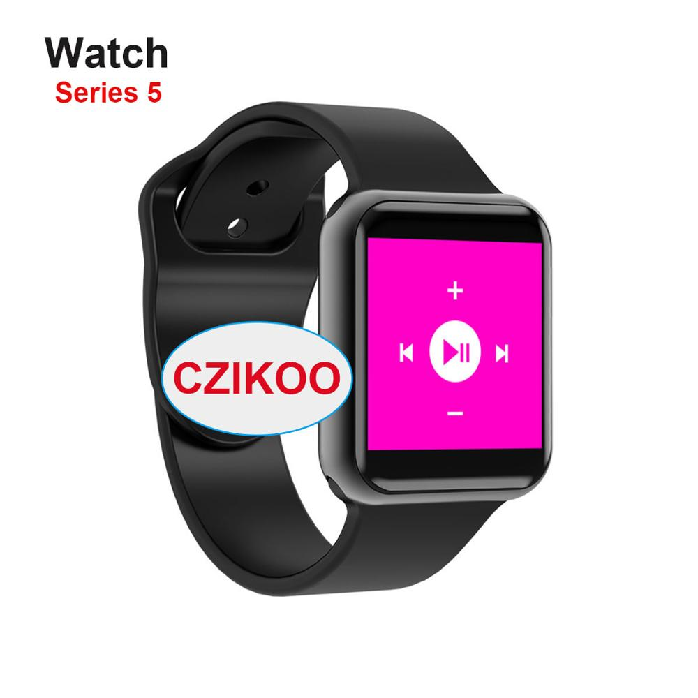 iwo <font><b>12</b></font> <font><b>Smart</b></font> <font><b>Watch</b></font> Series 5 1:1 1.54 inch Sport Smartwatch GPS Clock Wireless Charging for iphone samsung Android for iwo 8 10 image