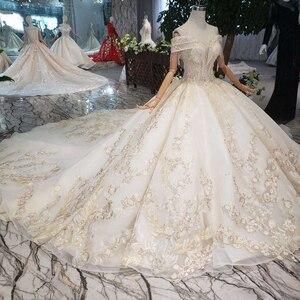 Image 3 - BGW robe de mariée luxueuse tenue de bal, avec Train Royal, faite à la main, bonne qualité, Style moyen orient, à la mode, 2020