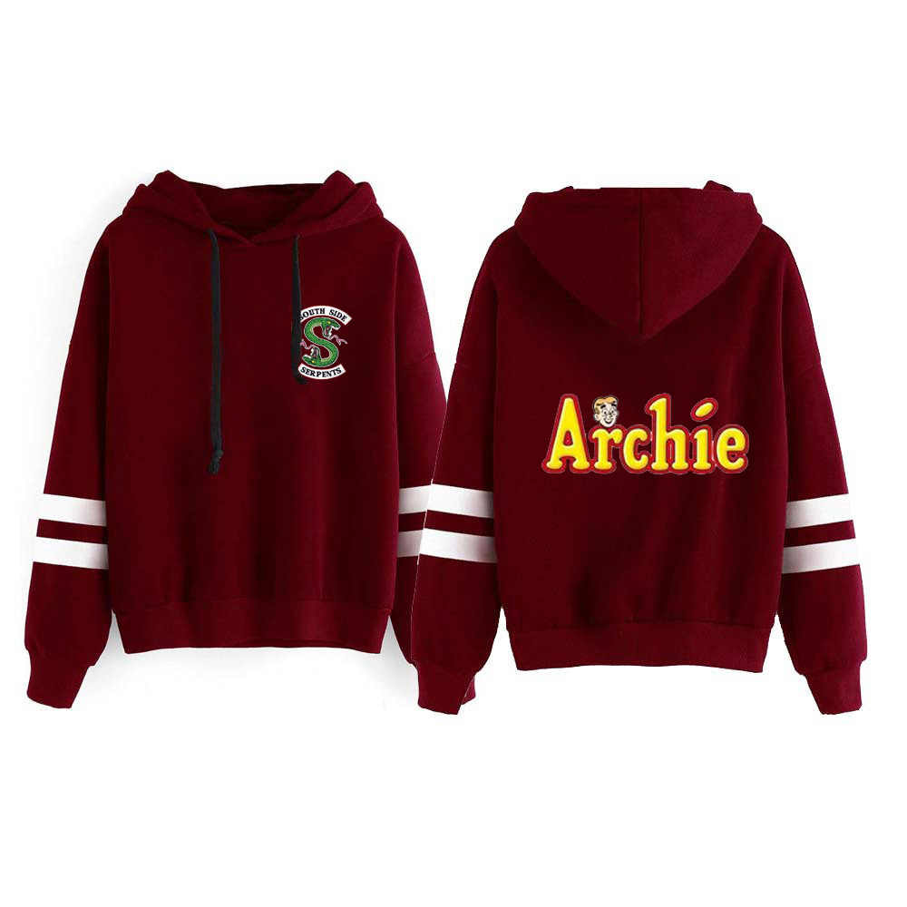 Riverdale Southside Serpents Hoodie Hooded Pullover Sweatershirts Harajuku Male/Women Sudaderas Archie Andrews Hood Pullover Top