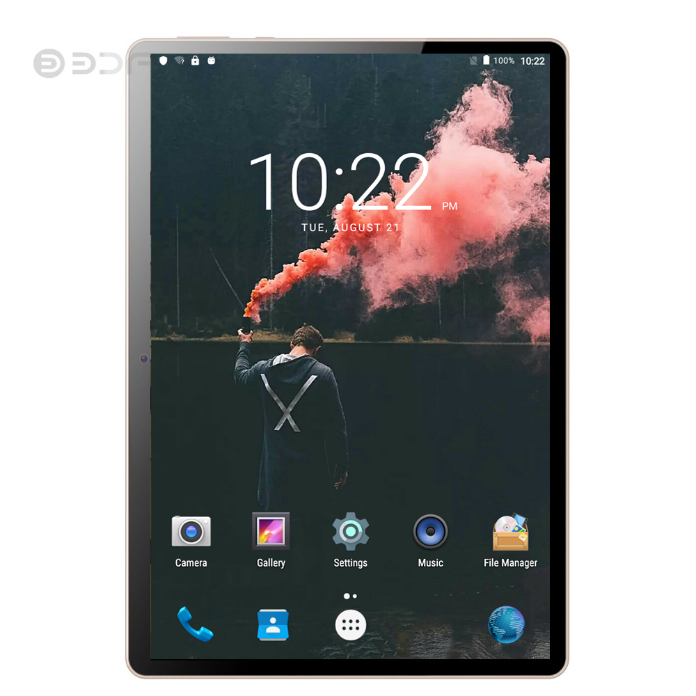 BDF 2020 Tablet New 10 Inch 3G/4G LTE Tablet Pc Ten Core 8GB RAM 128GB ROM 5.0MP 1280*800 IPS Tablette Android 9.0 Tablets 10.1
