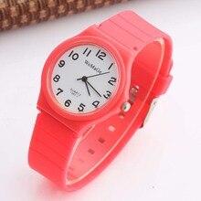 Womage Watches Fashion Girls Silicone Sports Children Watch Kids Quartz montre enfant horloges vrouwen