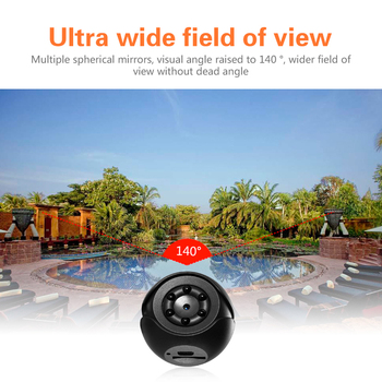 Classic Texture 1080P FHD Mini Camera Practical Multi-functional Durable 1920 x 1080P Night Vision Camcorder Motion DVR DV