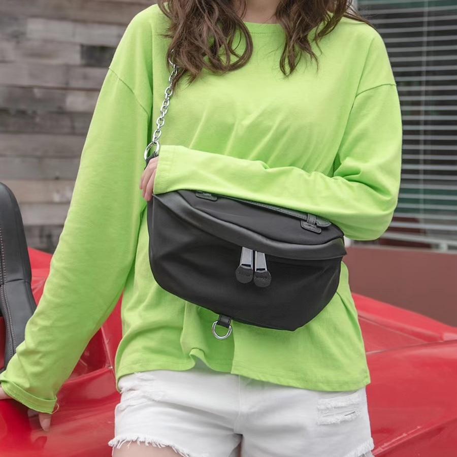 Fashion Chest Bags Oxford Cloth Crossbody Bags For Women Chest Bag Luxury Handbags Women Bags Designer Ladies Purse Black 2020|Top-Handle Bags|   - AliExpress