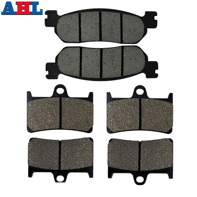 Motorcycle Front Rear Brake Pads For Yamaha YZFR6 YZF600RR 1999 2000 2001 2002 2003 YZFR1 YZF1000 2002 2003 YZFR6S 2001 2002
