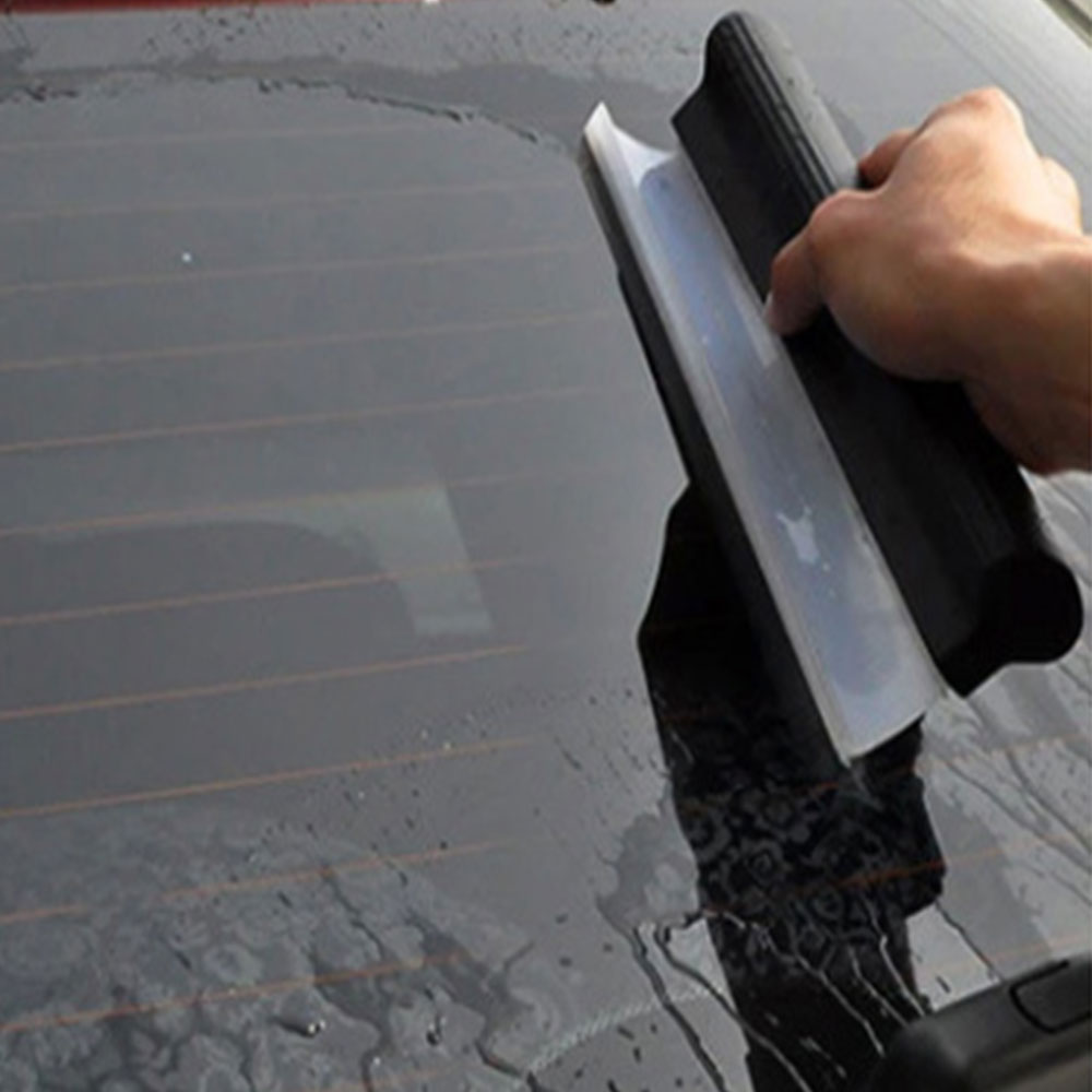 Silicone Home Car Water Wiper Squeegee Blade Wash Window Glass Clean Shower Dry Your Car Accesorios