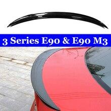 Carbon Fiber P Style Rear Trunk Spoiler 318i 320i 325i 330i For BMW 3 Series E90 & M3 Sedan Wing CF