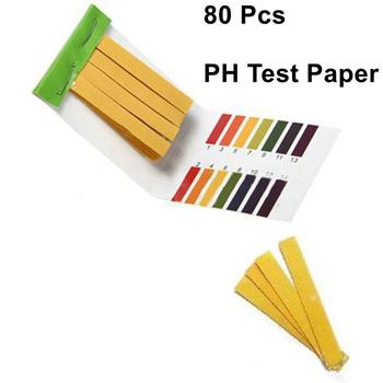 80 Strips/pack PH Test Strips Full PH Meter PH Controller 1-14st Indicator Litmus Tester Paper Water Soilsting Kit Factory image