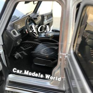 Image 5 - Diecast רכב דגם עבור Minichamps G class (W 463) (כסף) 1:18 + מתנה קטנה!!!