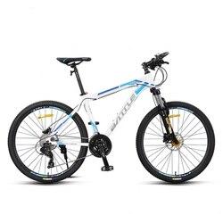 Rower górski o zmiennej prędkości studenci płci męskiej i żeńskiej jeżdżący na rowerze szokowym 26 cali 27 prędkości roweru