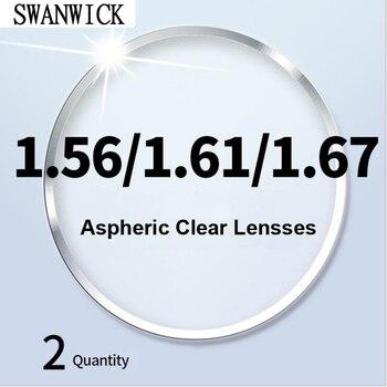 chashma anti reflective 1 67 index lens thin recipe optical prescription lenses for eyes super quality clear lens for recipe Swanwick clear lenses aspheric optical ultralight thin 1.56 1.61 1.67 1.74 myopia hyperopia lens CR-39 resin prescription