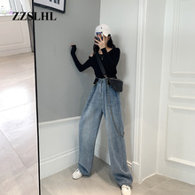 2020 New Summer Casual Jeans Woman Long Trousers Cowboy Fema