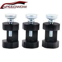 SPEEDWOW универсальная Свеча зажигания двигателя зазор инструмент Gapper Gapping Sparkplug суппорт черный M10* 1,25/M12*1,25/M14*1,25