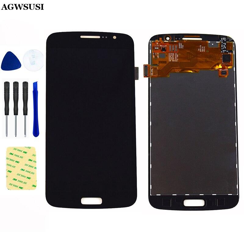 ЖК-дисплей для Samsung Galaxy Grand 2 Duos G7102 LCD G7105 G7106 G7108, ЖК-дигитайзер, сенсорный экран, датчик, ЖК-дисплей, панель в сборе