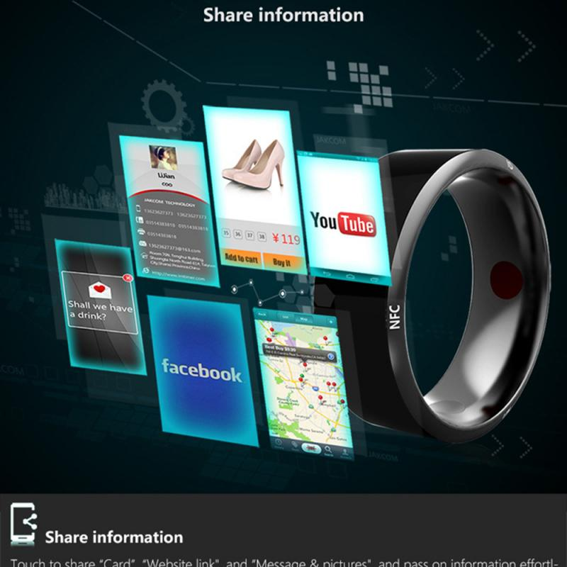 Smart Ring NFC Ring Waterproof Intelligent Magic Multi Functional  Smart Ring New Technology Magic Portable Technology Ring