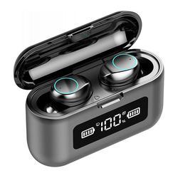 B10 TWS Bluetooth 5,0 Headset Noise Cancelling Ohrhörer Dual Mikrofon Sport Kopfhörer Kopfhörer Mit 1200mAh Lade Fall