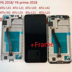 Image 5 - מקורי 5.7 עבור Huawei Y6 2018 Y6 ראש 2018 ATU LX1 / ATU L21 ATU L31 LCD תצוגה + מסך מגע Digitizer עצרת + מסגרת