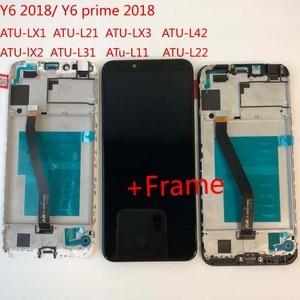 Image 5 - Ban Đầu 5.7 Cho Huawei Y6 2018 Y6 Prime 2018 ATU LX1 / ATU L21 ATU L31 Màn Hình Hiển Thị LCD + Tặng Bộ Số Hóa Màn Hình Cảm Ứng lắp Ráp + Khung