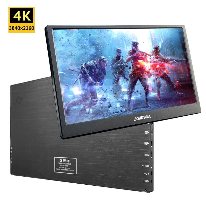 17,3 Zoll 4K 3840x2160 IPS Typ-C Tragbare Bildschirm für Schalter PS4 Pro Xbox 60Hz HDMI HDR Monitor für PC Laptop Gaming Monitor