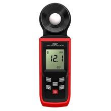 Портативный люксометр, Мини ЖК-люминометр, цифровой фотометр, люксметр, светильник, осветитель, 0-100000 Люкс с режимом удержания