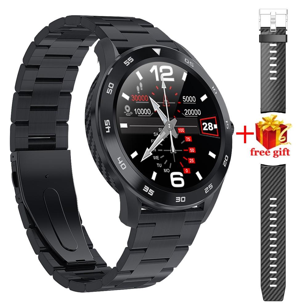 DT98 Smart Watch Bluetooth Call ECG Heart Rate IP68 Waterproof Sport Tracker Man Smartwatch Ios for Samsung Xiaomi Huawei Iphone