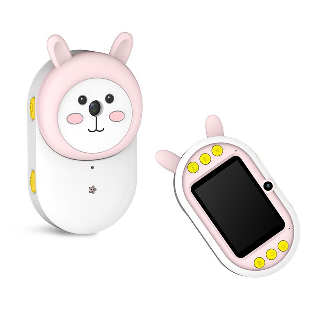 Kids Mini Dual Lens Camera Early Education Intelligence Development Cartoon WiFi 2.4 Inch 300W Digital Photo Camera