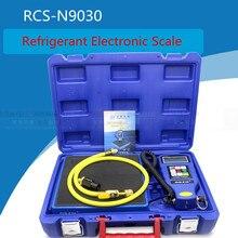 цены RCS-N9030 HVAC/Refrigerants Large Flow Programmable Precision Electronic Digital Balance Scale Calibration Weight 100KG