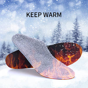 Warm Heated Cashmere Orthopedic Insoles For Men Women Plantar Fasciitis Orthotics Shoes Inserts Relieve Heel, Arch & Foot Pain