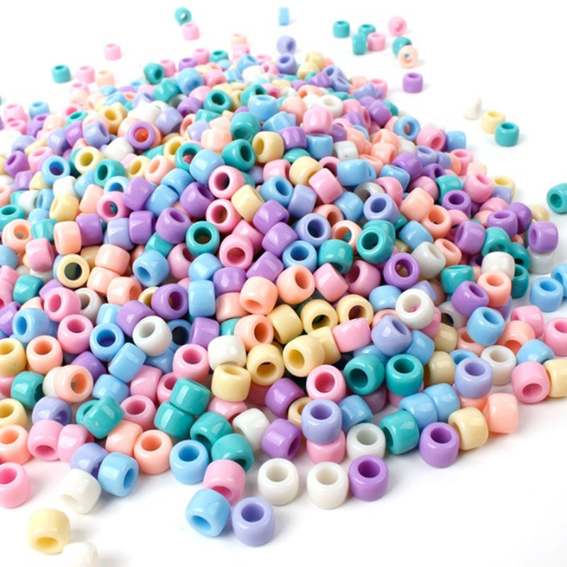 500pcs beads for children kids girls gifts creative crafts accessories jewelry Bracelet making educational toy 6 7 8 years diy