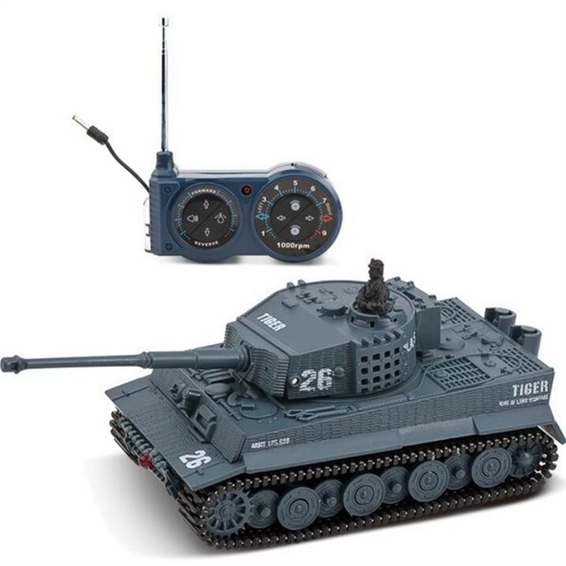 Great Wall Toys 2117 1/72 Radio 14CH Electric RC Tank Battle With Light Sound RTR Model