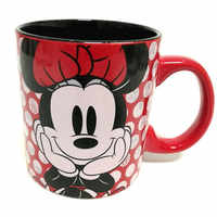 400 мл Дисней Минни Микки, чашка для воды, молочный кофе, чай, керамические кружки, домашняя офисная коллекция, чашки для влюбленных пар, подар...