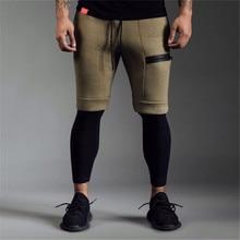 Summer running shorts men's sports jogging fitness shorts training men's gym men's shorts sports gym shorts