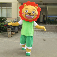 Cartoon Lion Mascot Costume Suits Party Fancy Dress Outfits Advertising Promotion Carnival Halloween Xmas Adults Fursuit Parade