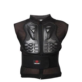 Motorcycle Armor Body motos Jacket Chest Back Shoulder Protector Gear Men Sleeveless Motorcross Vest Armored Girder